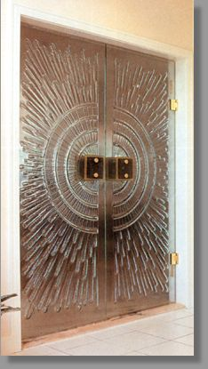 Artistic Glass Doors