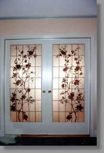 Artistic Glass Entryways